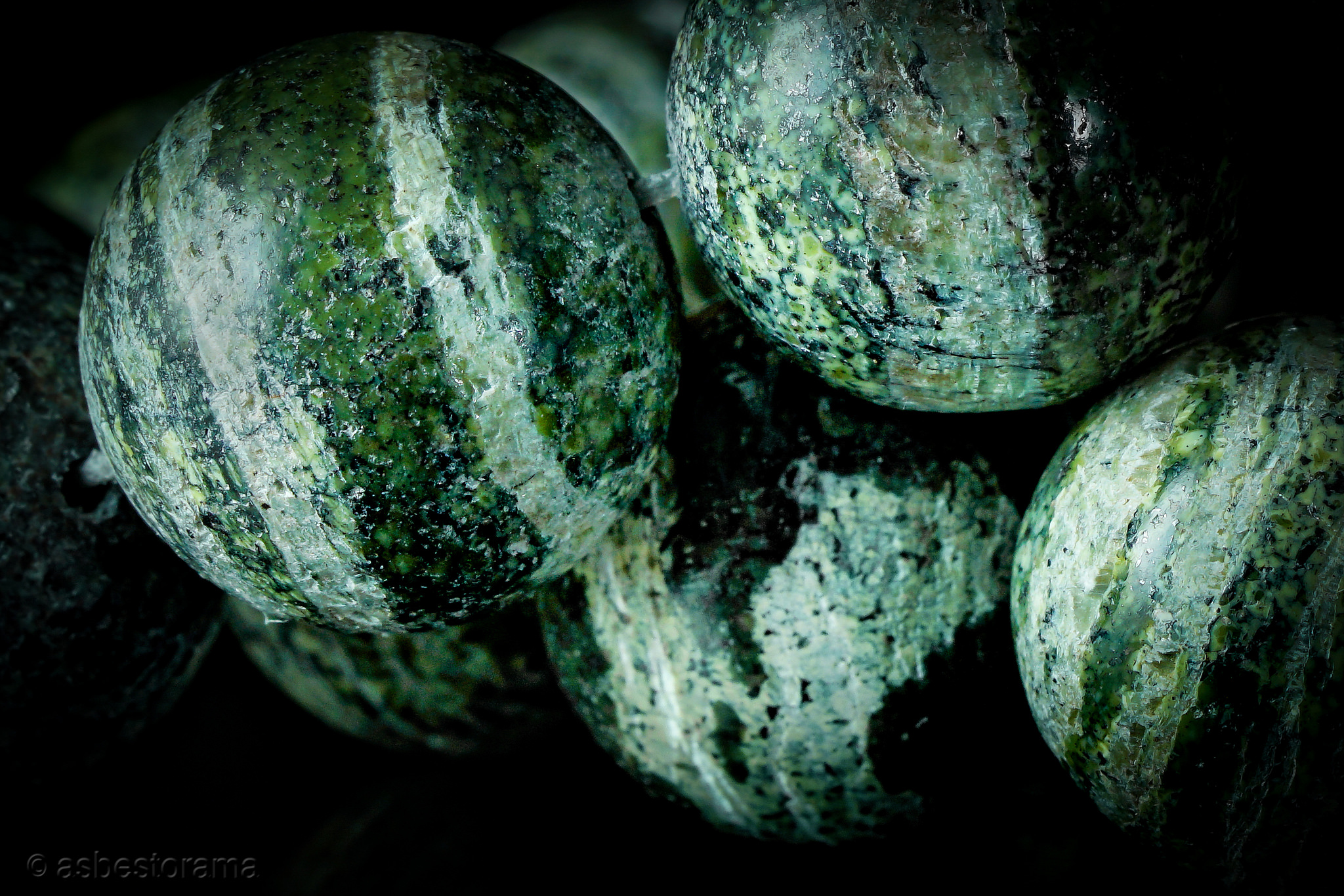Asbestos Bead Jewellery 3